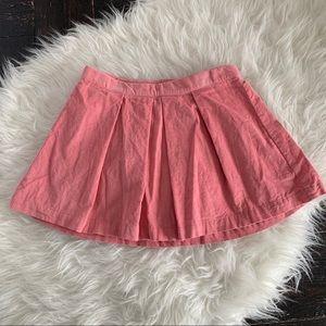 Girls gap corduroy like pink salmon skirt.